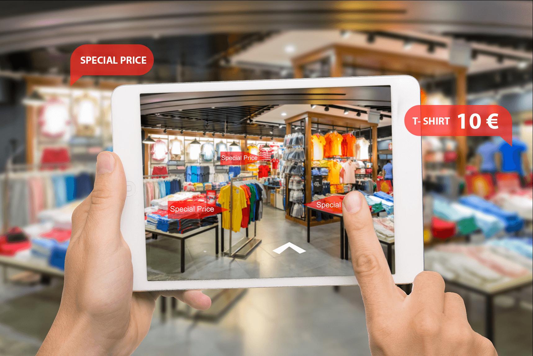 negozio in realtà virtuale